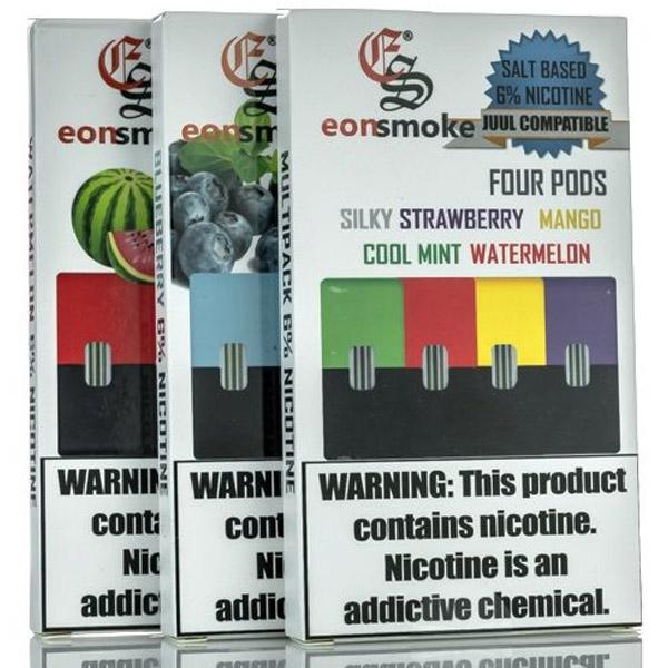 EonSmoke Pre-Filled Nicotine Salt Compatible Pods (4ct)