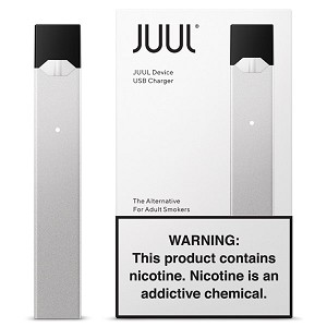 JuuL Basic Kit (Device And Charger) Silver