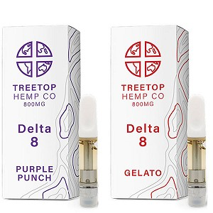 Treetop Hemp Co Delta 8 Cartridge (800MG)