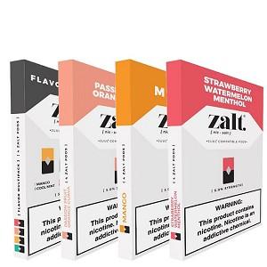 Zalt Pods Pre-Filled Nicotine Salt Compatible Pods (4ct)